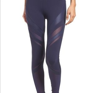 Alo yoga epic leggings in rich blue size small